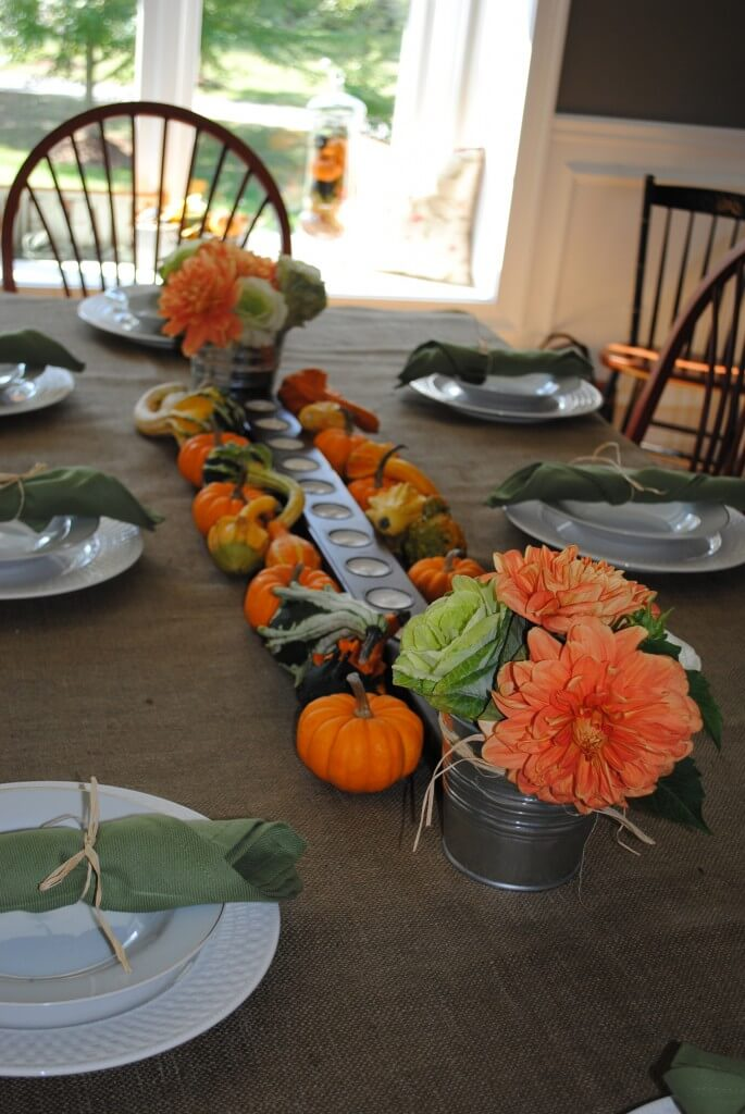 Thanksgiving table setting from mk design for Elegant table setting for thanksgiving