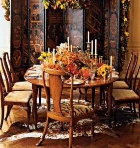Thanksgiving Table Setting Overload