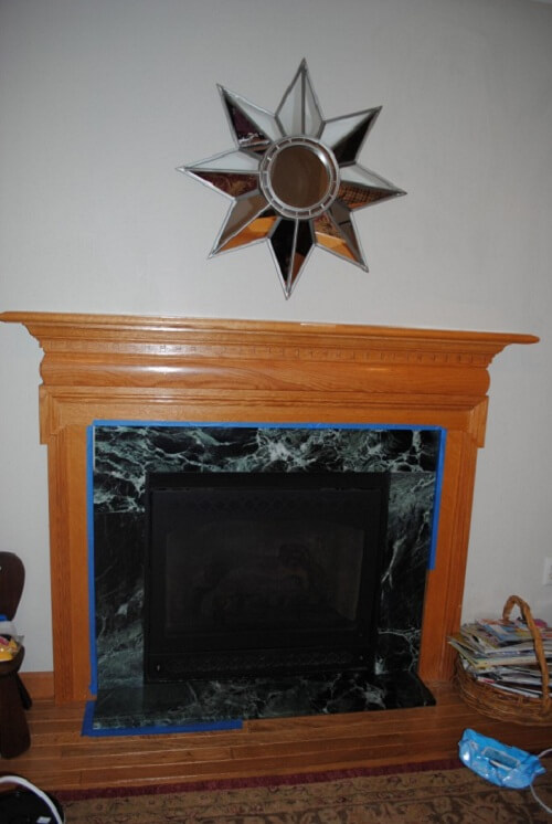 Do it yourself fireplace makeover first solutioingenieria Image collections
