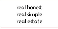 real honest, real simple, real estate