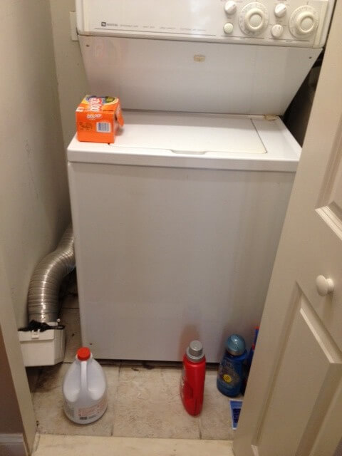 Laundry closet makeover tips for quick do it yourself project now that i have your attentionthis is what my laundry room or closet as i call it used to look like i know i know it scared me too solutioingenieria Gallery