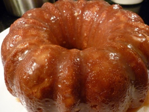 Kat Treats Salted Caramel Bundt Cake