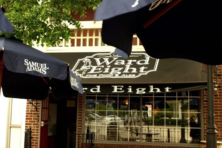 Lowell Massachusetts bar with outdoor seating