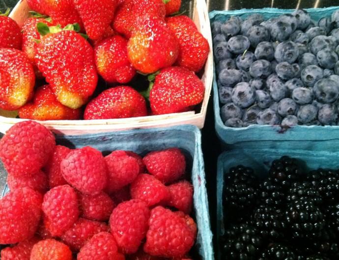 So many berries!