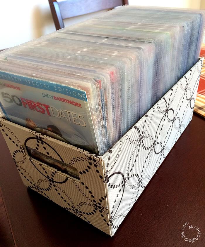 DVD Organization Project