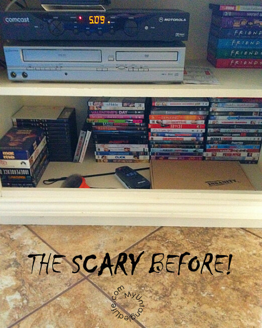 DVD Organization Tips and Ideas