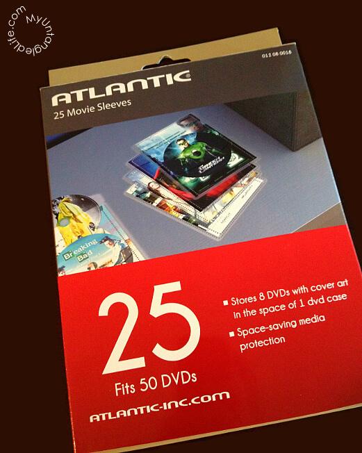 DVD Organization Supplies