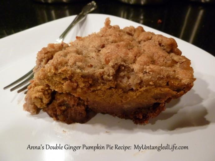 Kat Treats Double Ginger Pumpkin Pie