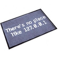 There's no place like 127.0.0.1 Floormat