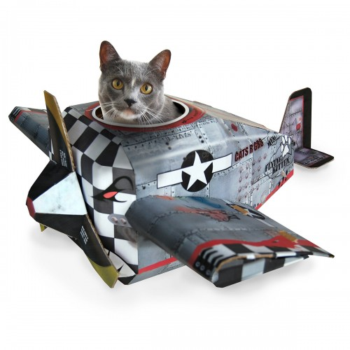 Airplane Cat House  from UncommonGoods