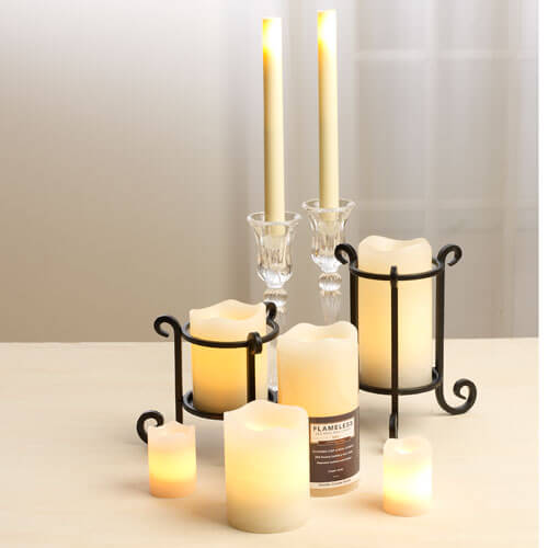 Flameless Battery Candles