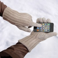 Touchscreen Cashmere Gloves