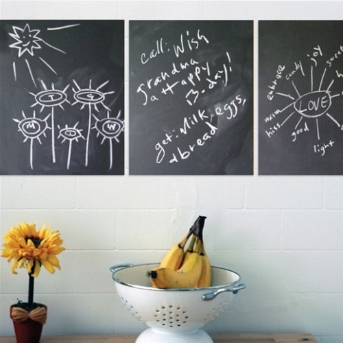 Chalkboard Reusable Wall Decals by Wallcandy Arts