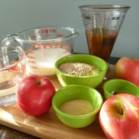 Slow-Cooker Maple Apple Oatmeal