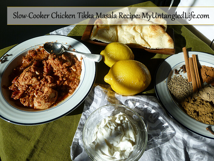 Slow-Cooker Chicken Tikka Masala Recipe