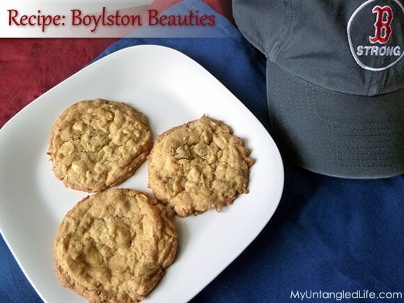 Boylston Beauties Cookies - In honor of Boston Strong