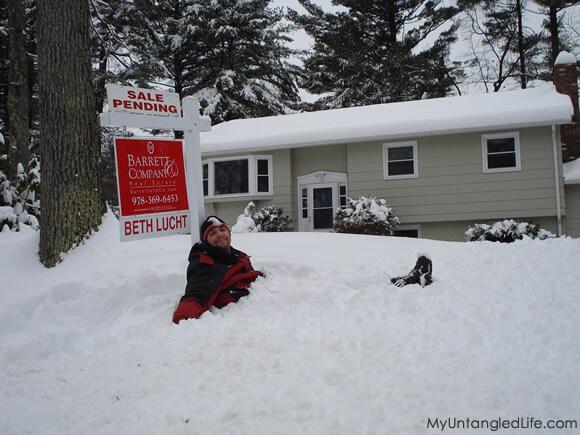 A Snowy Sale - MyUntangledLife.com