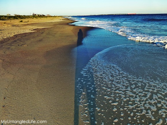 Walking on the Beach, MyUntangled Life