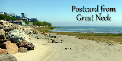Postcard from Great Neck