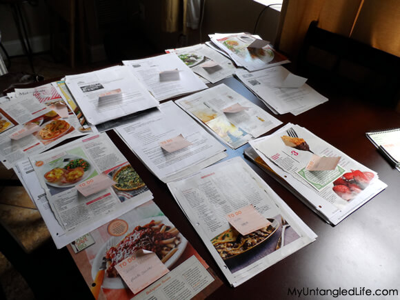 Recipe Categorizing