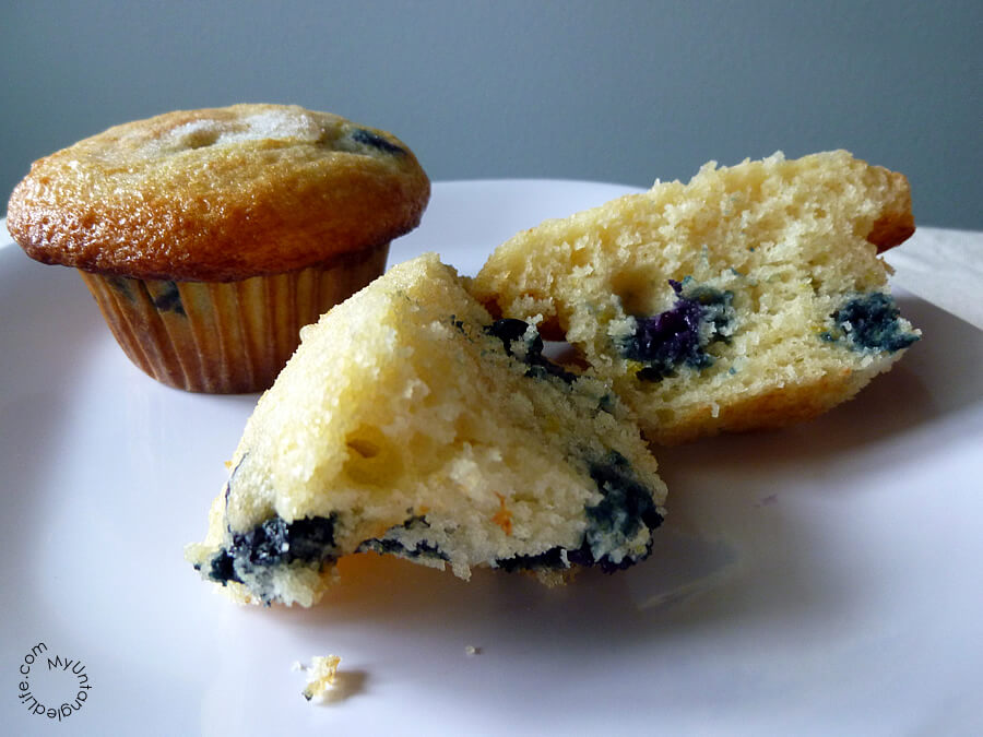 Blueberry Muffins Recipe by Kat Treats