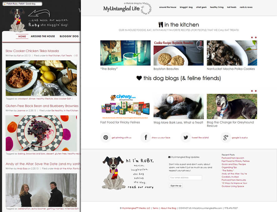 MyUntangledLife on WordPress