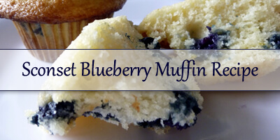 Sconset Blueberry Muffin Recipe