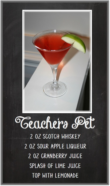 Teachers Pet Martini