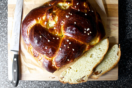 Apple and Honey Challah - Smitten Kitchen