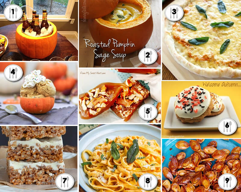 Pleasing Pumpkin Recipes - myuntangledlife.com