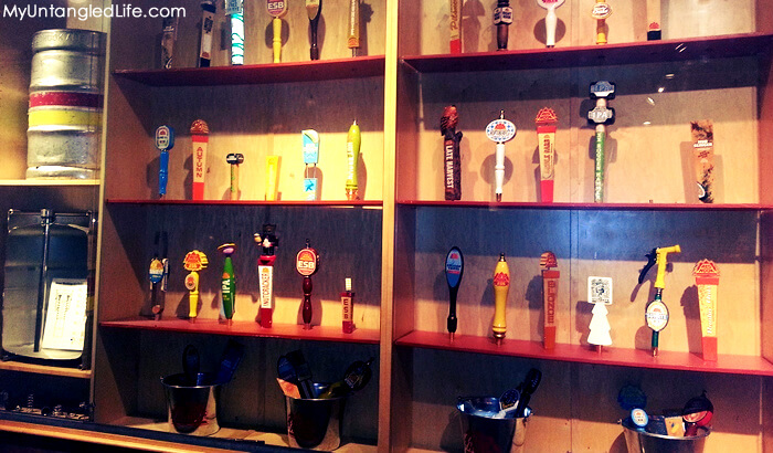 Redhook Brewery Taps