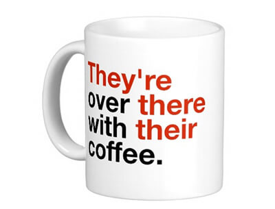 Grammar Geek Coffee Mug