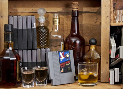 Ink Whiskey Entertainment Flask
