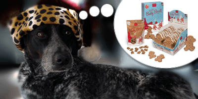 Holiday Biscuits for Your Four-Legged Buddy