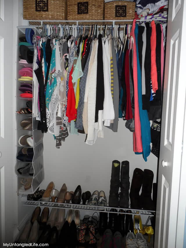 Closet Reorganization Project (After)