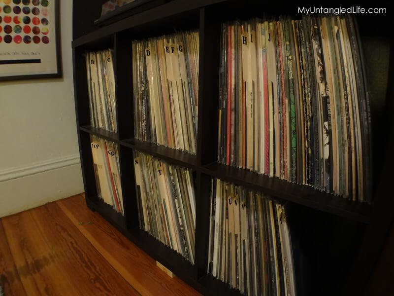 DIY Organizing Vinyl Albums Divider