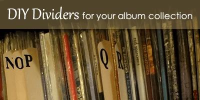 Organize your Vinyl - MyUntangledLife.com