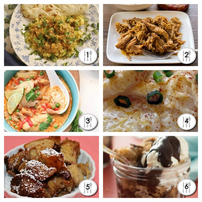 Slow Cooker Recipe Roundup