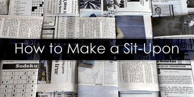How to make Sit-Upon