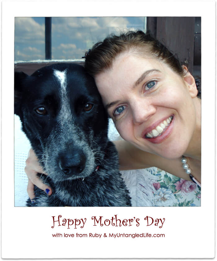 Ruby's Mother's Day Haiku - MyUntangled Life