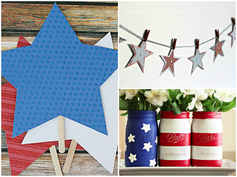 4th of July Party Ideas - Decorations