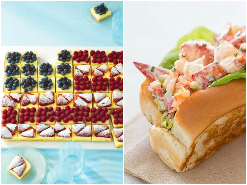 4th of July Party Ideas - Menu