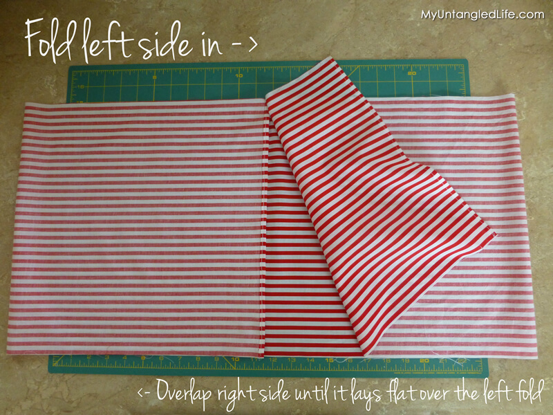Folding Fabric for DIY Pillow Cover