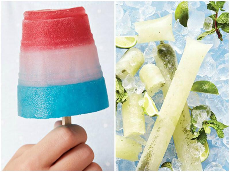 4th of July Party Ideas - Frozen Treats