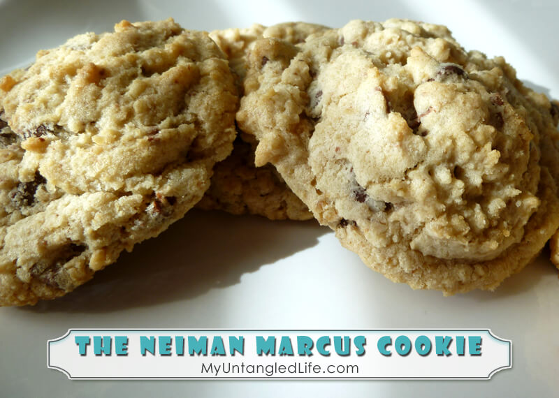 The Neiman Marcus Cookie Recipe