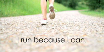 I'm Running Because I Can: The Starting Line