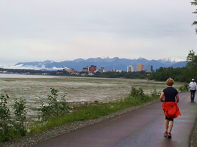 Mayor's Midnight Sun Half Marathon Anchorage Alaska