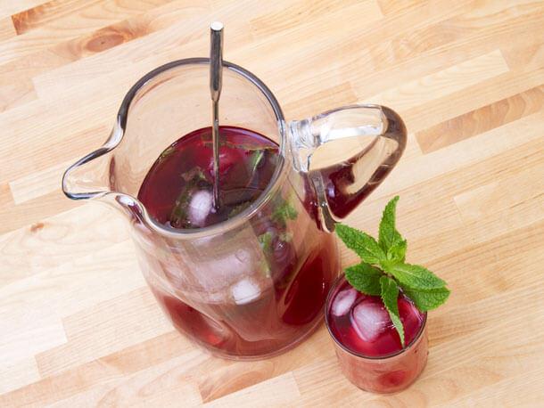 Serious Eats Hibiscus Rum Cooler