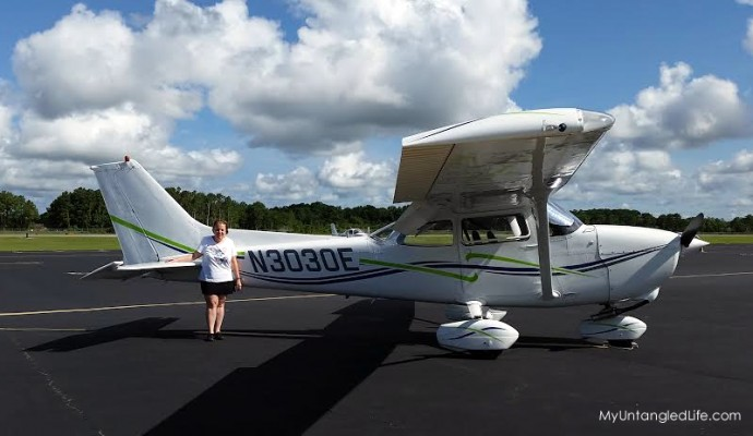 Teresa and the Cessna - Southport NC