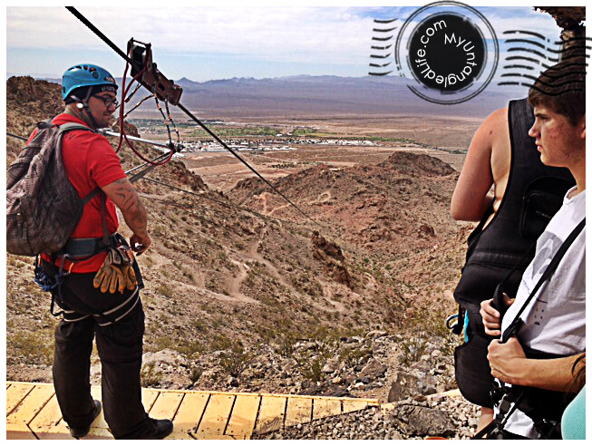 Ziplining in Las Vegas, NV